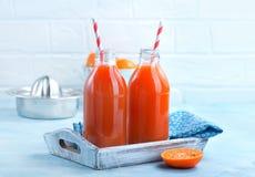 新鲜水果汁 免版税图库摄影