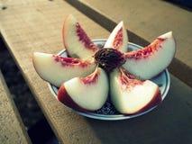 新鲜水果沙拉 库存照片