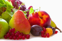 新鲜水果混合。 库存图片