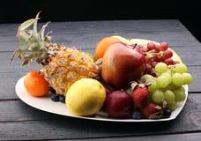 新鲜水果 快乐的果子果子混合 库存照片