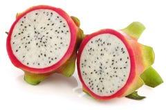 新鲜水果hylocereus pitaya undatus 库存照片