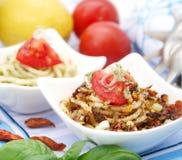 新鲜italien意大利面食 免版税库存照片
