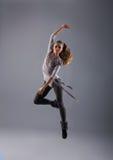 新,可爱和性感的现代舞蹈演员 库存照片