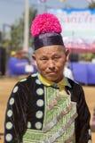 新年's Hmong部落 免版税库存照片