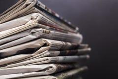 新闻事业 免版税图库摄影