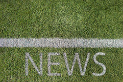 新闻和体育 图库摄影