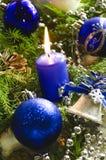 新年和圣诞节辅助部件 图库摄影