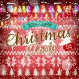 新年圣诞节装饰 10 eps 库存照片