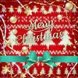 新年圣诞节装饰 10 eps 库存图片