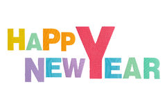 新年好字母表 库存图片