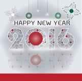 新年好贺卡 免版税库存图片