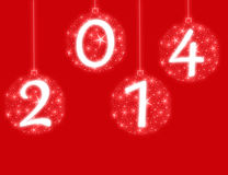 新年好2014年 图库摄影