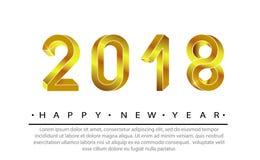2018新年好 免版税库存照片