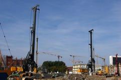 新建工程在柏林的市中心 免版税库存图片