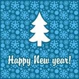 新年度横幅 免版税库存照片