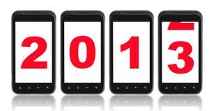 新年度的2013年 库存照片