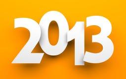 新年度看板卡 免版税库存照片