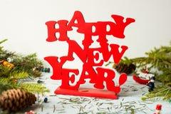 新年度装饰 库存图片