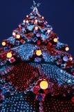 新年度结构树 免版税图库摄影