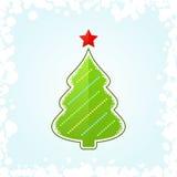 新年度结构树 库存例证