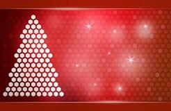 新年度结构树 免版税库存照片