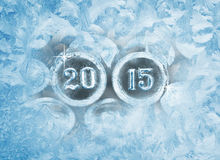 新年度2015年 免版税图库摄影