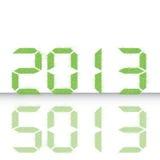 新年度2013年。 库存图片
