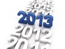 新年度2013年 库存图片
