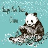 新年快乐中国 库存图片