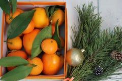 新年快乐和与圣诞节结婚 免版税库存照片