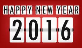 新年快乐2016年, 免版税图库摄影