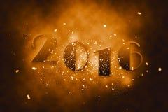 2016年新年快乐 免版税库存照片