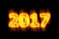 新年快乐2017年 库存照片