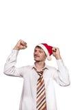 新年的公司假日 免版税库存图片
