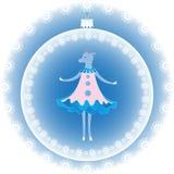 新年的山羊标志 库存图片