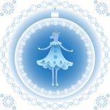新年的山羊标志 免版税库存照片