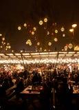 新年的市场在布达佩斯 免版税库存图片