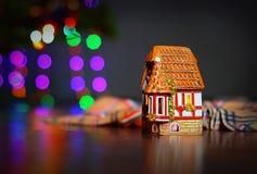 新年的心情烛台小屋2 图库摄影