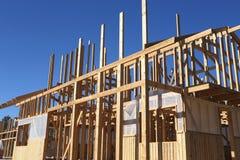 新建筑的房子 免版税库存图片