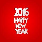 新年红色背景 免版税库存照片