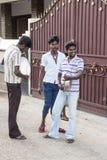 新闻纪录片的图象 社论 寺庙节日印度 免版税库存图片