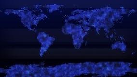 新闻背景世界地图小点 向量例证