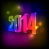2014新年背景 免版税库存图片