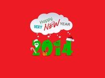 新年背景 库存照片