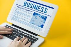 新闻营业通讯营销概念 图库摄影