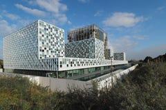 新2016被打开的国际刑事法院大厦 库存照片