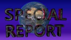 新闻题材 接地新闻专题报告的转动的抽象背景 影视素材