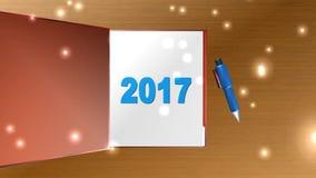 新年,动画 股票视频