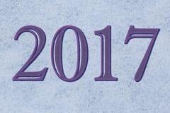新年2017年 免版税库存图片