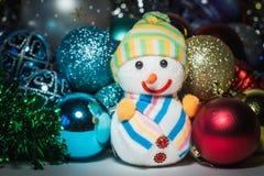 新年` s玩具 库存照片